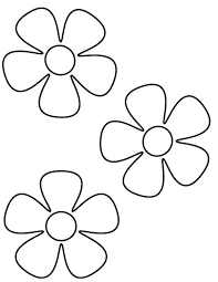 Flower Coloring Page Coloring Page Flowers Nature Printable Coloring