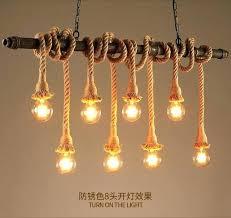 plumbing pipe light fixtures pipe lamp retro water pipe lamp vintage pendant light hemp rope loft