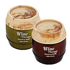 HOLIKA <b>HOLIKA Wine Therapy Sleeping</b> Mask Pack 120ml Red ...