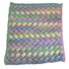 Baby Blanket Pattern Custom Cascade Yarns W48 Entrelac Baby Blanket Free At WEBS Yarn