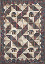 Quilting With Judy Martin -- Lessons, Blocks, and Quilting ... & A Log Cabin house in a Log Cabin quilt! Adamdwight.com