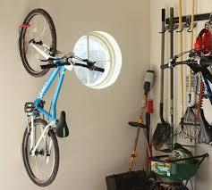venta hang bike on wall vertically