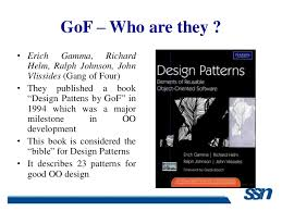 Design Patterns Gang Of Four Delectable Design Patterns