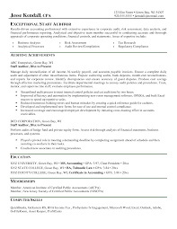 Auditor Resume Sample Objective Down Town Ken More