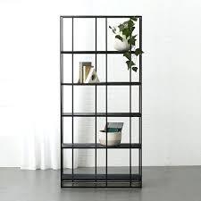 cb2 floating shelves caged black marble bookcase cb2 canada floating shelves