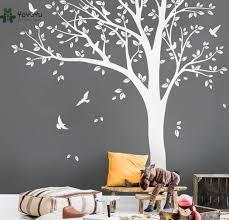 vinyl wall art tree with birds