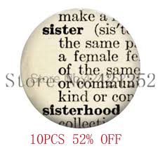 Quote Definition Inspiration Sister Quote Dictionary Definition Necklace Keyring Bookmark