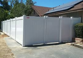 Vinyl fencing White Vinyl Fence Gallery Hoover Fence Co Vinyl Fencing Gallery Hemet Fence Vinyl Fence Installation