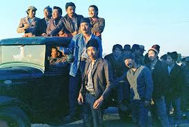 "re ing ""farewell to manzanar"" and the revolt against the jacl  rioters in truck"