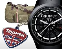 triumph motorcycle gifts wallets clocks from pure triumph