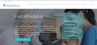 Online Health Insurance Quotes Cool California Health Plans WordPress Website Search Engine Optimization