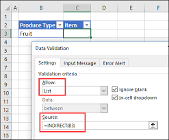 How To Add A Drop Down Box In Word How To Make Excel Data Validation Dependent Lists