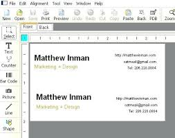 make business card in word outstanding how to make business card on word office depot cards
