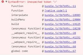 Syntaxerror With Template String Literal On Ios Safari Stack Overflow
