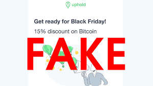 Getting a bitcoin wallet address with uphold is easy! Don T Fall For The Black Friday Themed Bitcoin Giveaway Scams