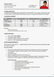 accounts cv page 6 curriculumvitaes resume format for articleship
