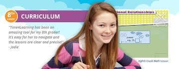 eighth grade curriculum overview