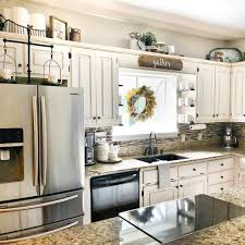 Decorating Above Kitchen Cabinets With High Ceilings 10 Ways To