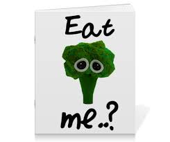 Тетрадь на скрепке Eat me..? #2514310 от FireFoxa - <b>Printio</b>