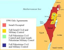 israel palestine conflict timeline teaching geography