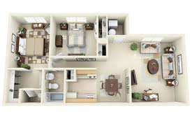 Wheatland VillageApartments Floor Plans 2 Bedrooms