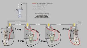 three way wiring diagram multiple lights wiring a 4 way switch Electrical Wiring Diagrams Lighting 5 way switch electrical wiring 3 way switch with multiple lights 4 three way wiring diagram electrical wiring diagrams lighting