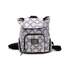 Coach Classic Monogram Medium Grey Backpacks Special Price   63.00  http   coachoutlet.kchbags.com