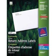 Ave 48267 Avery Eco Friendly Mailing Labels Ave48267 Ebay