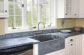 groß high end kitchen countertops islands with blue granite