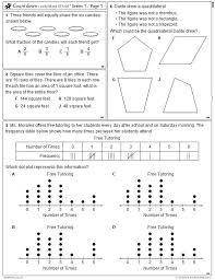 Math Staar Prep Texas Math Staar Test Review Mathwarm Ups