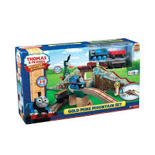 thomas the train table set chairs fisher friends wooden railway gold mine mountain set the