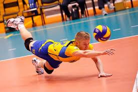 Волейбол Вікіпедія Волейбол Відбиття м яча