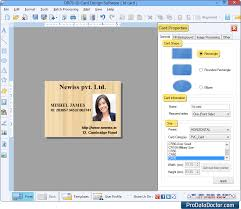 Design Cards Maker Id Student Software Identity Bulk Employee Company