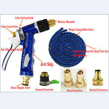 100ft garden hose. 100FT Garden Hose Kit Portable Car Washing Tool Household Watering Set All Brass Accessories-in Hoses \u0026 Reels From Home On Aliexpress.com 100ft