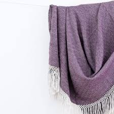 Purple Blankets And Throws