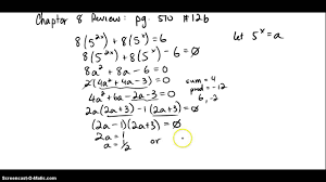 8 5 solving exponential equation example2 2