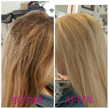 Highlighted Hair To All Over Using Wella High Lift Tint With