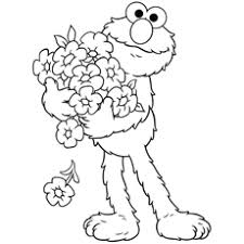 Small Picture Coloring Pages Of Elmo FunyColoring