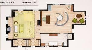 ... brooklyn interior designer, architecture. Floor plan for 2nd floor  concept house.