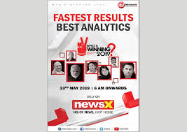 newsx one of english news channel from itv network will bring to its viewers the fastest results and best ytics of the results of the general