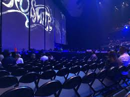 Park Mgm Aerosmith Seating Chart Park Theater At Park Mgm Section 103 Row K Seat 16