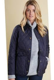 Barbour Annandale Ladies Quilted jacket in Navy LQU0475NY91 ... & Barbour Annandale Ladies Quilted jacket in Navy LQU0475NY91 - Smyths  Country Sports Adamdwight.com