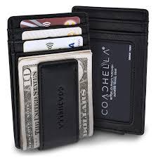 Designer Money Clip Wallet With Card Holder Coachella Mens Money Clip And Credit Card Holder Rfid Money Clip Slim Wallet Credit Card Front Pocket Wallet