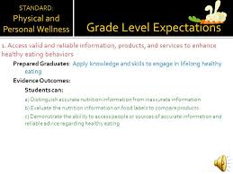 5 grade level expectations 1 access valid and reliable information