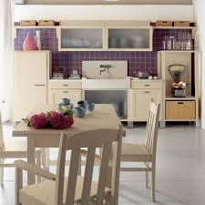 kitchen design purple and white. aesthetic italian kitchen design purple tile accents in country inspiration and white
