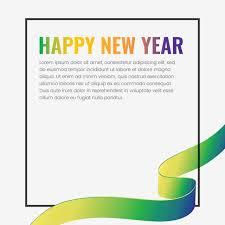 happy new year 2019 ribbon frame new year ribbon frame 2019 happy new