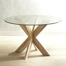 round dining table base diy for glass top tulip only
