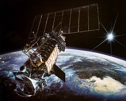 air force weather satellite s breakup blamed on wiring harness dmsp air force weather satellite is depicted in polar orbit near alaska photo credit