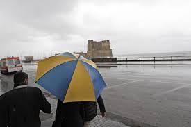 Campania, allerta meteo gialla dalle 12 di venerdì • Il ...