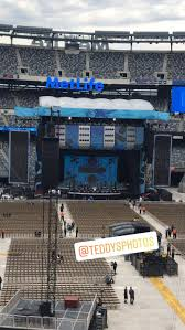Ed Sheeran Metlife Stadium Seating Chart Metlife Stadium Section 228a Row 2 Seat 7 Ed Sheeran